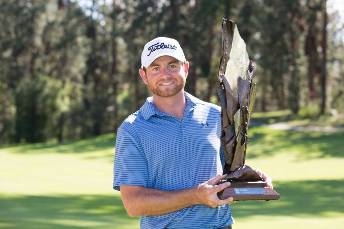Congratulations to our 2016 Champion Dan McCarthy! June 12, 2016 at Gallagher's Canyon Golf & CC, Kelowna, BC. (Photo: Chuck Russell/PGA TOUR Canada)